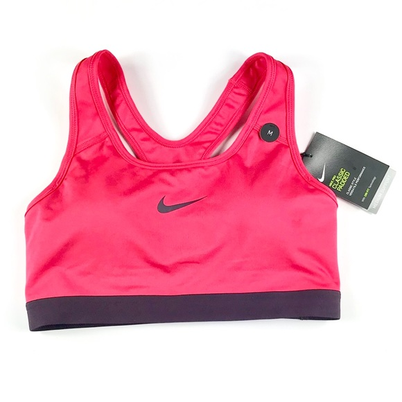 299c64c334707 Nike Women Dri-Fit Sports Bra Pink Purple